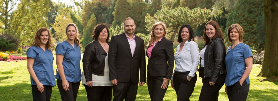The Country Hills Dentistry Team at Kitchener dentist